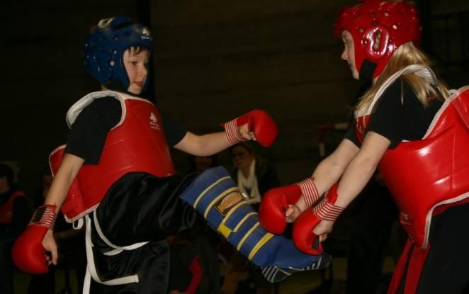 Sanshou (sparring) jeugd